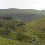 route from Glenmalure, Lugnaquilla