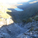 """The top of """"The Devils Ladder"""", Carrauntoohil"""