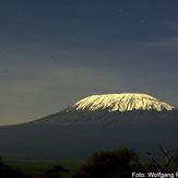 Kilimanjaro range from southwest, Mount Kilimanjaro