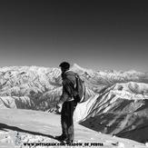 damavand from tochal peak