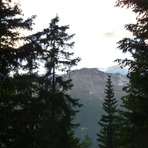 view:Piz Starlex vom Valdaprà