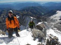Not quite at the summit yet!, Weissmies photo