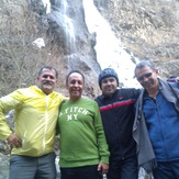 Friends in Chalmagas fall, Tochal
