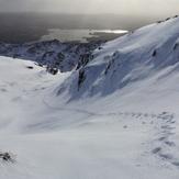 Croaghgorm with Lough Eske in background, taken 15 February 2014