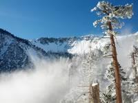Mt. Baldy in snow, Mount Baldy (San Gabriel Range) photo