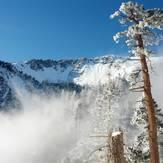 Mt. Baldy in snow, Mount Baldy (San Gabriel Range)