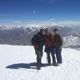 friends on the peak, Tochal