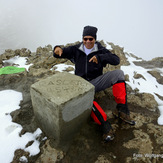 snow on the peak of Ras Dejen, Ras Dashen