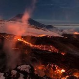 naser ramezani :  tolbackik volcano, Tolbachik