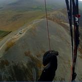 Soaring above Croagh Patrick summit