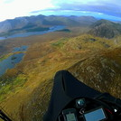 Soaring above Inagh Valley in Connemara