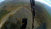 Soaring above the sumit, Croagh Patrick photo