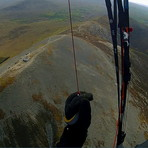 Soaring above the sumit, Croagh Patrick