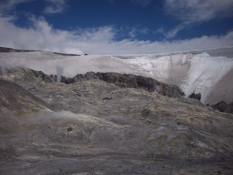 Interior del Crater Vn. Peteroa, Planchón-Peteroa