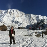 Panorama at the ABC, Annapurna Sanctuary