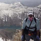 peak of sanboran.masoud esnaashar, سن بران