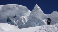 Chegando no Ice Cliff, Cho Oyu or Qowowuyag ( 卓奧有山) photo