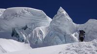Chegando no Ice Cliff, Cho Oyu or Qowowuyag ( 卓奧有山) photo