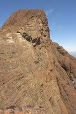 south face of Kings Peak summit block, Kings Peak (Elk River Mountains) photo