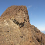 south face of Kings Peak summit block, Kings Peak (Elk River Mountains)