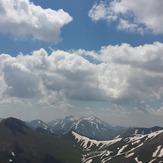 The beauty of mountain and sky, Sahand