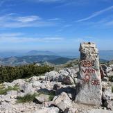 Dinara, the highest peak in Croatia