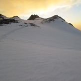 Sabalan peak s sunset