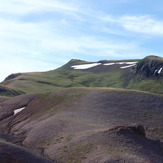 Mt Delano, looking south, Mount Delano