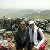 Ali Saeidi NeghabeKoohestaN, Alam Kuh or Alum Kooh