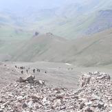 صعود 1393.04.20 گروه البرز فریدونکنار, Azad Kuh or Shah-zaade Kaj Gardan