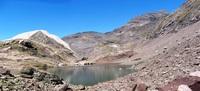 Peña Blanca y la Munia desde el Ibón Inferior de la Larri, Pic de la Munia photo