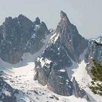 Warbonnet Mountain from Baron Peak, Warbonnet Peak