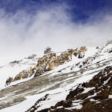 snowstorm on Damavand