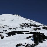 Subiendo el volcán Antuco