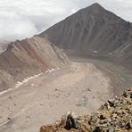 View of Siah`Kaman, Alam Kuh or Alum Kooh