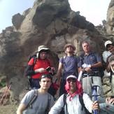 Sabalan on the peak, سبلان