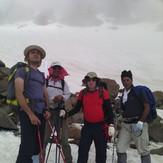Sabalan under the peak, سبلان