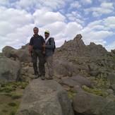 Alvand under the peak, Alvand (الوند)