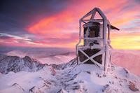 Sunrise at Musala peak photo