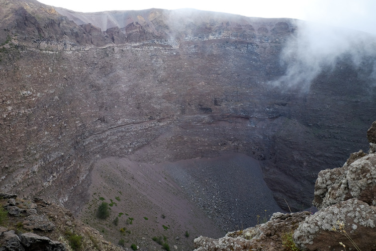 Crater of Vesuvius