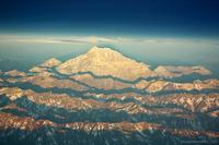 Atardecer en el Monte Aconcagua photo