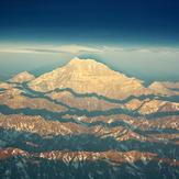 Atardecer en el Monte Aconcagua