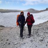دریاچه یخ زده قله دماوند      امیرومصطفی, Damavand