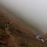 مسیر صعود علم کوه قبل از حصار چال, Alam Kuh or Alum Kooh