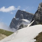 The west face of the mountain, Gamila