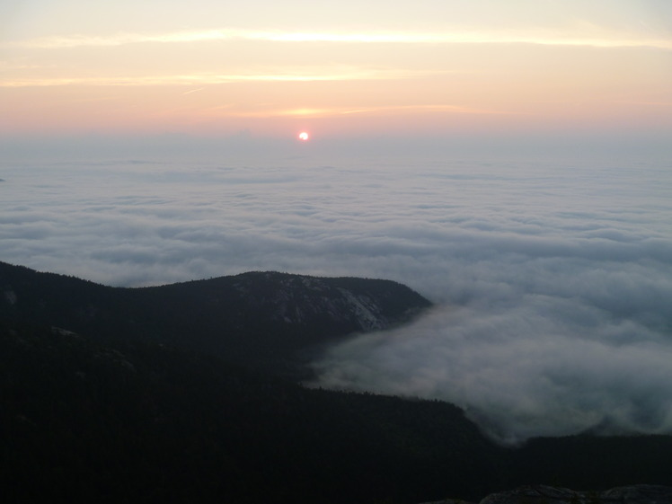 Sunrise on Chocorua, Mount Chocorua