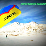 erciyes snowkite team  umut, Erciyes Dagi