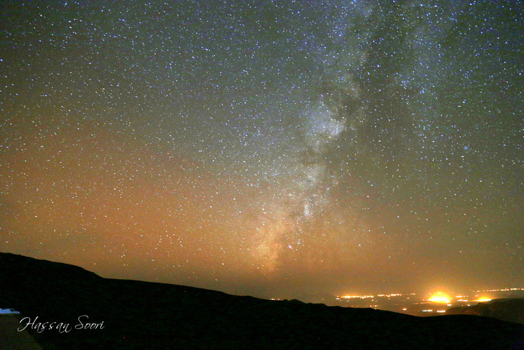 milky way, تفتان‎‎