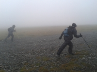 misty mountain high, Skiddaw photo