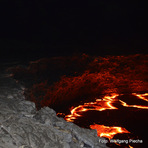 night at the magma lake, Erta Ale